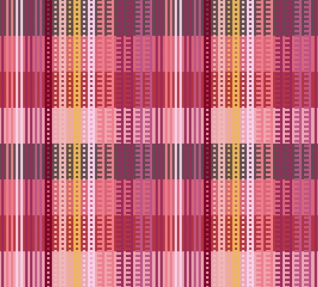 striped seamless pattern design with woven texture 向量圖像