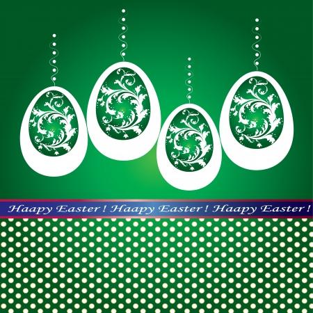 Illustration of the celebration of Easter Vector