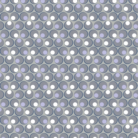 grey circle seamless pattern