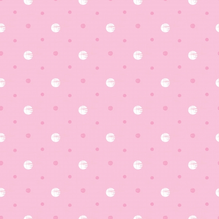 seamless pattern polka dot with pastel tones Illustration