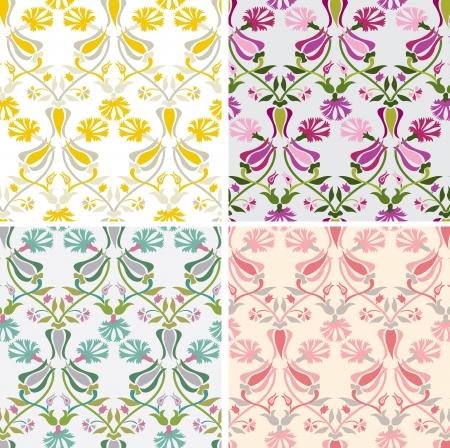 Traditional Turkish Ottoman motifs Stock Vector - 19913157
