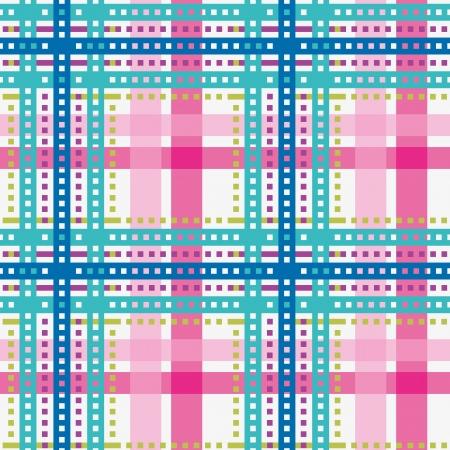 Tartan, plaid seamless pattern, bright color