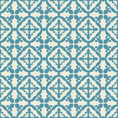 Seamless pattern. Portuguese, Moroccan, Spanish tile