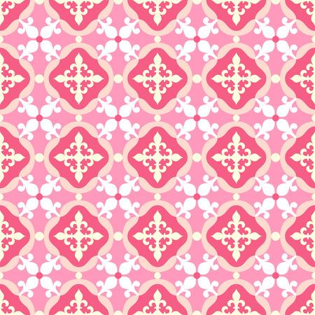 spanish tile: Seamless pattern. Portuguese, Moroccan, Spanish tile
