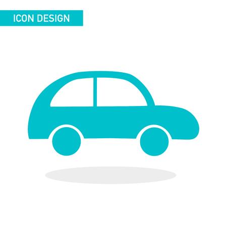 Car flat icon vector design