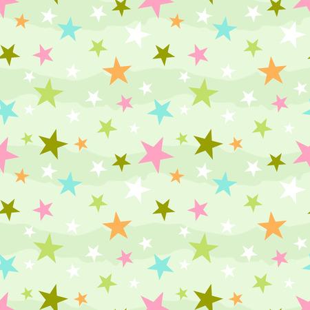 星と抽象的なシームレス パターン 写真素材 - 67378538