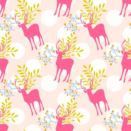 zvýšil: Bezešvé roztomilé květinové vzory s polka dot pozadí také Ilustrace