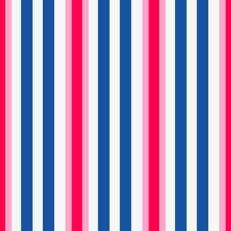 Striped seamless pattern. Colorful line vector background. Navy color vertical strips. Illustration