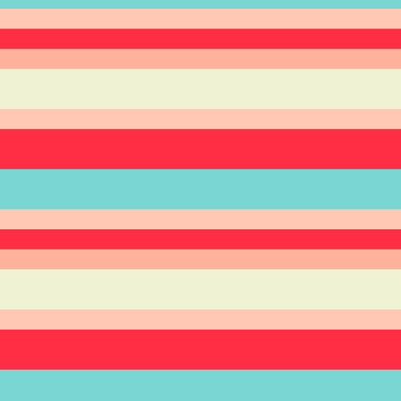 Striped seamless pattern. Colorful line vector background.