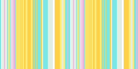 Striped seamless pattern. Colorful line vector background. Cheerful colors with fun bold and thin stripes