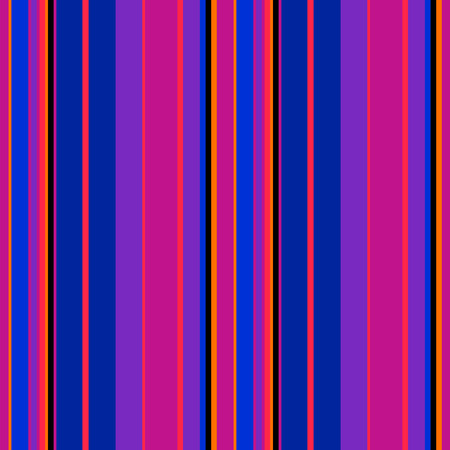 Seamless stripes pattern with neon color.  Illustration