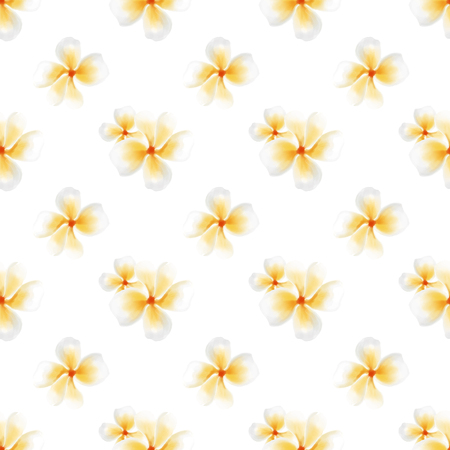 Vector watercolor small flower pattern design. Seamless background with pastel colors.