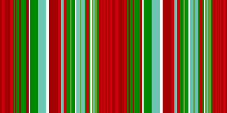 Christmas stripe seamless pattern. Banner Xmas traditional color striped background