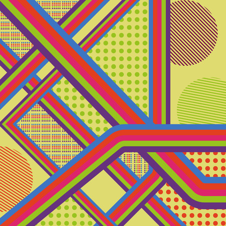 find your way: Find your way. Colorful lines. Vector graphic eps10 background.