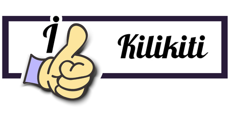 i like: Frame I Like Kilikiti Thumb Up! Vector graphic logo eps10.