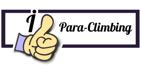 i like: Frame I Like Para-Climbing Thumb Up! Vector graphic logo eps10.