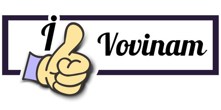 i like: Frame I Like Vovinam Thumb Up! Vector graphic logo eps10. Illustration
