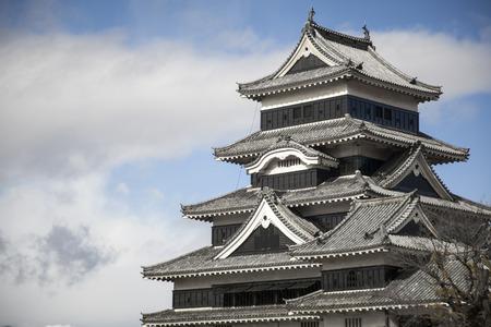 matsumoto: Matsumoto castle  Matsumoto town, Nagano prefecture, Japan
