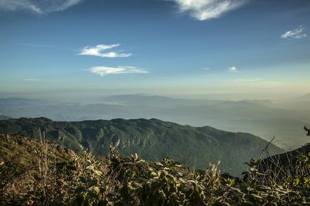 dao: Chiang Dao Mountain, Chiang Mai Province, Thailand Stock Photo