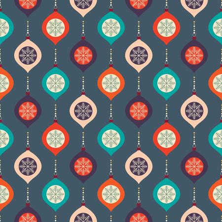 Christmas seamless pattern Çizim