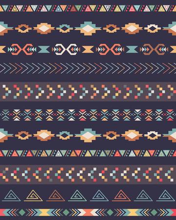 Tribal decorative pattern