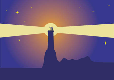 computer generated image of the lighthouse Stock Photo - 2717915