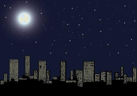 그림 밤 풍경