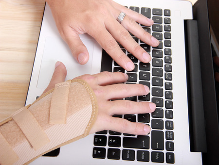 carpal tunnel syndrome: health is important Stock Photo