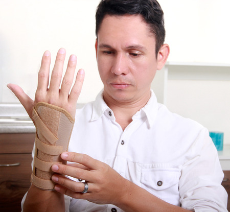 carpal tunnel: health is important Stock Photo