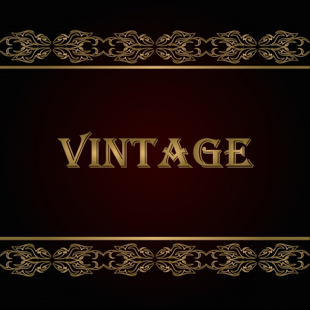 Vintage background  Vector ESP10 Stock Vector - 17547997