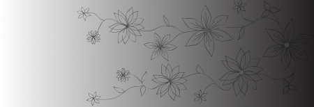 Vector flower banners.