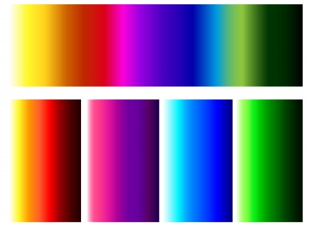 Color Spectrum Bars Background