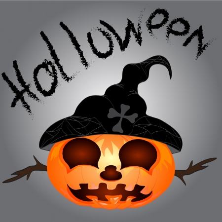 Pumpkin for Halloween Vector