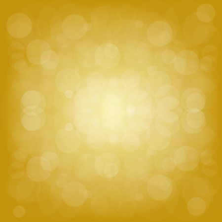 Defocused yellow abstract christmas background  Vector illustration Illustration