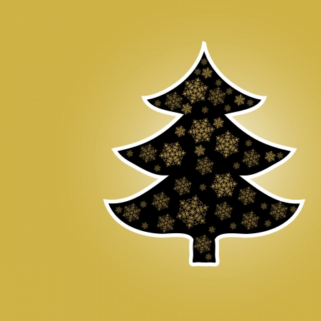 star light: Christmas Tree From Star Light  Vector