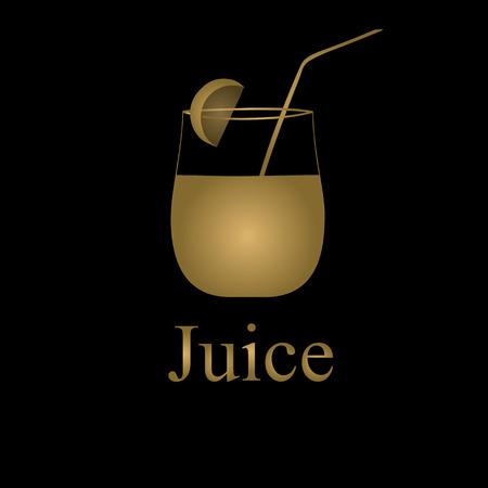 Fruit juice symbols illustration Stock Vector - 27203449