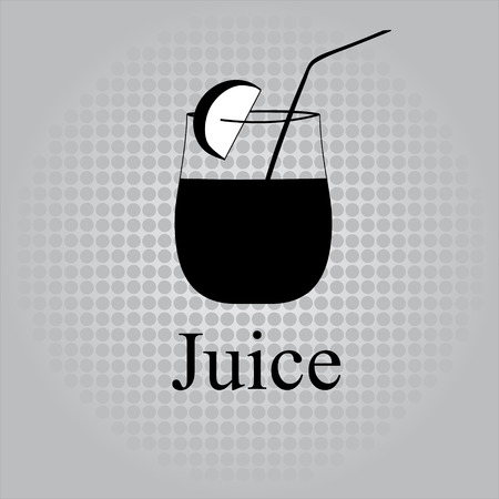 Fruit juice symbols illustration Stock Vector - 27203451
