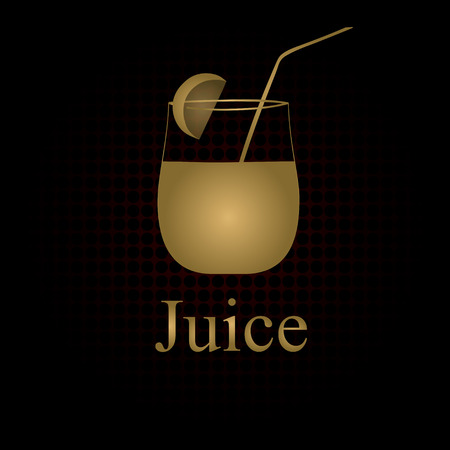 Fruit juice symbols illustration Stock Vector - 27203457