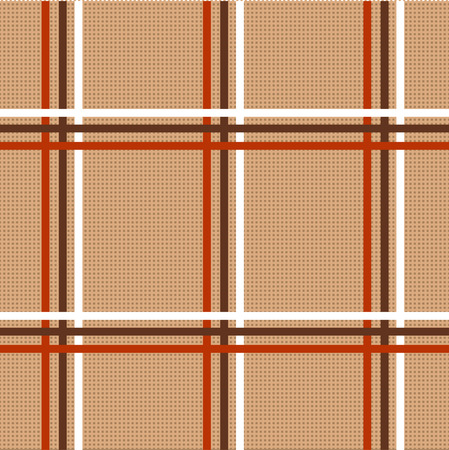 braun: Checkered tablecloth seamless pattern. beautiful vector background, the idea for decor and textiles