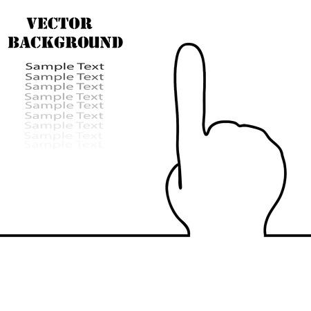 indeciso: Resumen de vectores de fondo con direcci�n manos signo. El concepto de la toma de decisiones. Movimiento en direcci�n conocida. elecci�n certeza Vectores