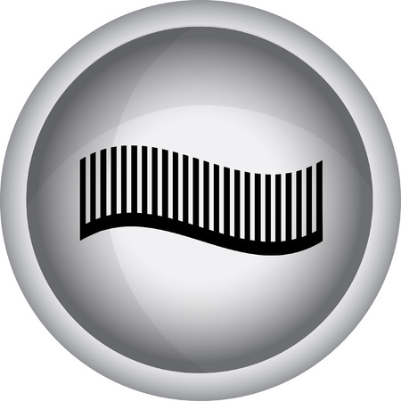 hairclip: Hairdressing objects icon. Vector Illustration