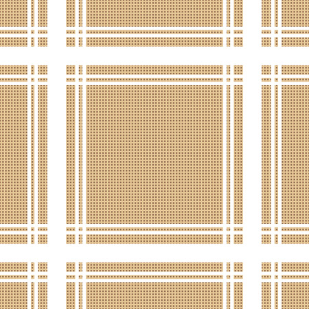 braun: vintage tablecloth seamless pattern. beautiful vector background, the idea for decor, wallpaper and textiles Illustration