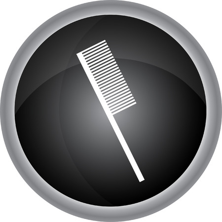 hairstylist: Hairdressing objects icon. Vector Illustration
