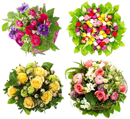 flowers bouquet: colorful flowers bouquet