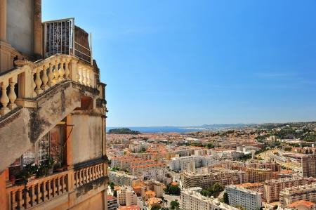 Panoramic view on Nice, France photo