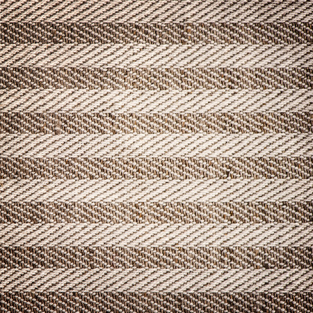 textil: background of textured textil brown white striped Stock Photo