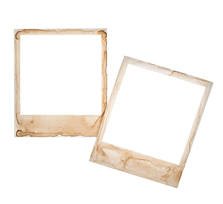 Instant Photo Frames Isolated On White Retro Style Design For ...