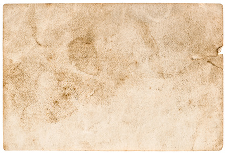 stained used paper background. grunge rustic texture