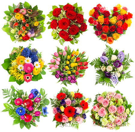 green flower: Bouquets of colorful flowers for Birthday, Wedding, Mothers Day, Easter, Holidays, Life Events