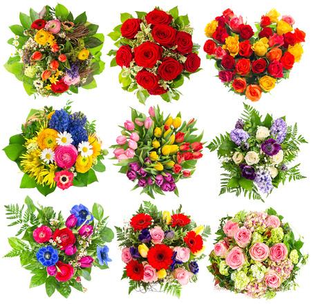 arreglo floral: Ramos de flores de colores para cumpleaños, boda, del día de madres, Semana Santa, Fiestas, Eventos de la vida